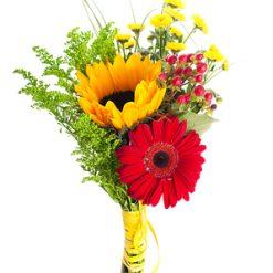 bouquet flower trio